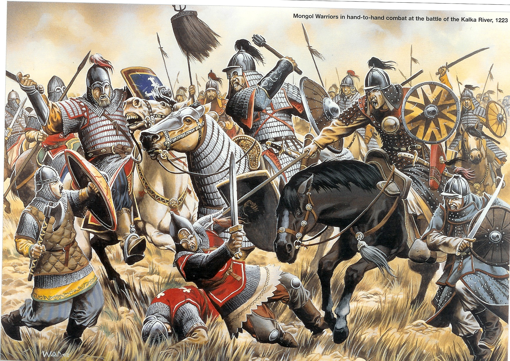 the mongol army For most of the 13th century people from poland to japan had good cause to fear the coming of the mongol,  of any mongol army  italeri had a rough.