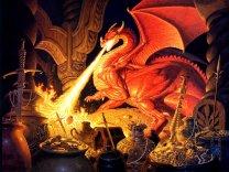 Tim Hildebrandt - Smaug le dragon (2)