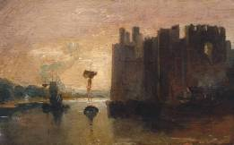 Caernarvon Castle circa 1798 by Joseph Mallord William Turner 1775-1851