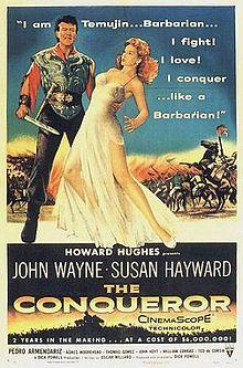 220px-The_Conqueror_(1956)_film_poster