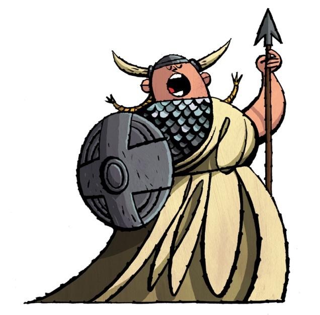 Opera Singer Viking