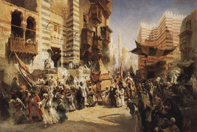 the-handing-over-of-the-sacred-carpet-in-cairo-1876_makovsky