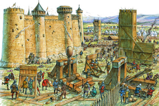 CASTLE UNDER SIEGE-ILLUSTRATION