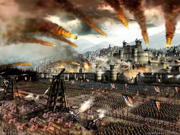 castles tower fire horses cannons siege medieval 2 total war 1600x1200 wallpaper_www.wallpaperhi.com_10