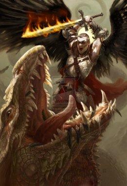 St__Michael_slaying_the_Dragon_by_tegehel