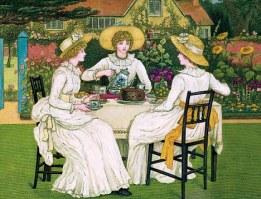 TEA ON THE LAWN